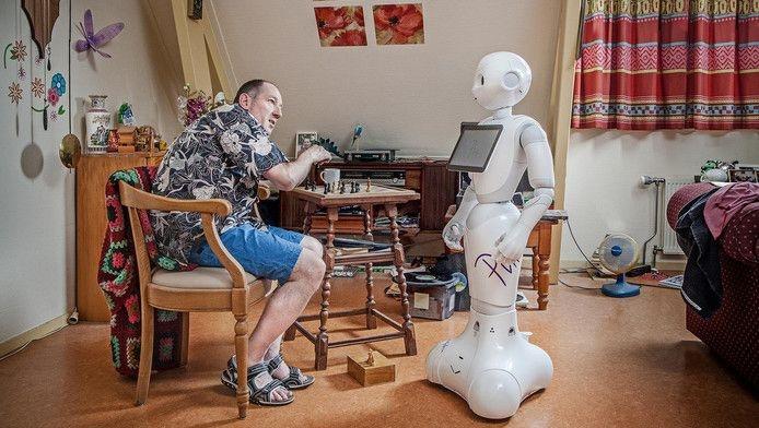 Philadelphia test sociale robot en start uniek robotplatform
