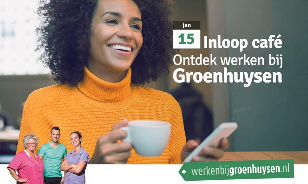 15 januari - Speciale editie van het inloop café bij Groenhuysen